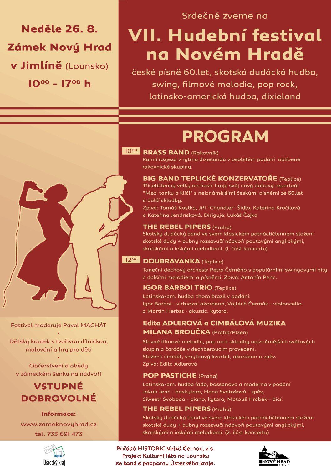 VII. Hudební festival na Novém Hradě